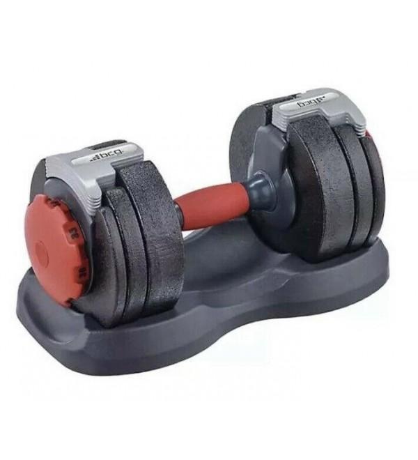 New BCG Adjustable 40lb Dumbbell 5 to 40lb, Similar to Bowflex SelectTech 552