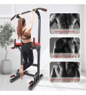 Yokele Power Tower Workout DIP Station for Home Gym Adjustable Multi Pull up Bar