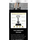 CorePump Functional Trainer Home Gym (Gun Metal) 10-120 lbs Smart Resistance