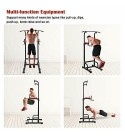 Power Tower Dip Pull Up Station Tower for Home Gym Strength Training Fitness