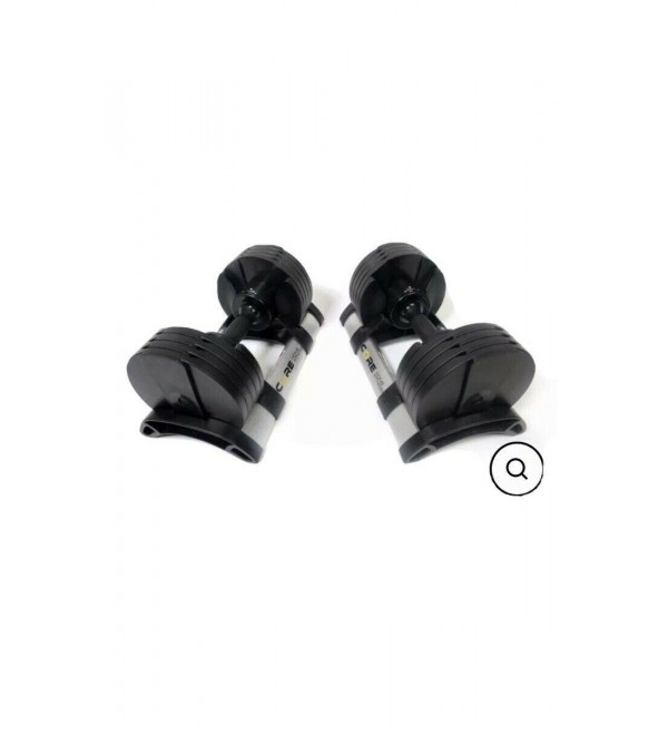 Core Home Fitness Adjustable Dumbbell Weight Set 5-50 LBS BRAND NEW PAIR PICKUP!