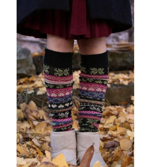 Christmas  flake Thigh-High Socks