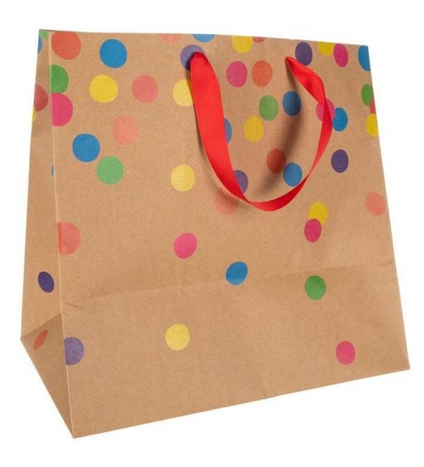 onfetti Kraft Gift Bag