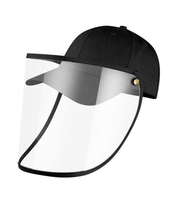tective Baseball Cap with Removable Flip-Up Visor Shield